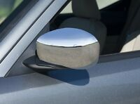 CHROME MIRROR COVERS SIDE EXTERIOR CAPS WINGS MOLDING for DODGE CHARGER 2006-10
