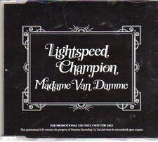 (AX46) Lightspeed Champion, Madame van Damme - DJ CD