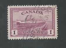 CANADA # 273 Used TRAIN, FERRY (1586)