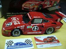 PORSCHE 935 K3 Kremer Le Mans 1981 Coca Cola Akin #43 TrueScale Highend TSM 1:18