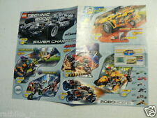 LEGO BROCHURE FLYER CATALOG TOYS TECHNIC 2000/2001 STAR WARS DUTCH 4 PAGES 016