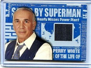 SUPERMAN - PERRY WHITE - AUTHENTIC PIECE OF PERRY WHITE'S 3 PIECE SUIT
