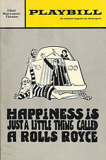 "Pat Harrington ""HAPPINESS IS A ... ROLLS ROYCE"" John McGiver 1968 FLOP Premiere"