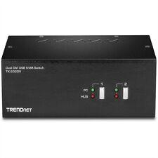 TRENDnet TK-232DV DVI KVM Switch 2-Port Dual Monitor