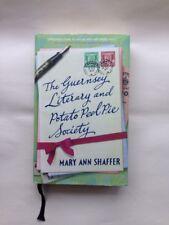 'The Guernsey Literary and Potato Peel Pie Society' MISPRINT on dust jacket!!