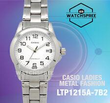 Casio Ladies Standard Analog Watch LTP1215A-7B2