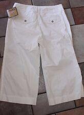 KHAKIS WORLD FASHION cotton Capris SIZE 6 ~ NEW WITH TAGS ~