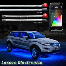 """XKGLOW KS-MOTO-ADVANCED 8pc 24"""" Under Glow & 6pc 10"""" Flexible Strip Neons"""