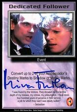 Babylon 5 Ccg Mira Furlan Premier Edition Dedicated Follower Autographed