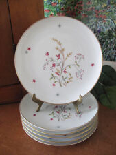Eschenbach Bavaria Germany Baronet China CLARICE Bread and Butter Plates ~ Six