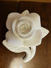 Rose Flower Rubber Latex Mould Mold Wall Decorative Hanging Plaque Plaster New
