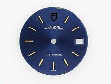 TUDOR Prince-Quartz Oysterdate BLUE Watch Dial Diameter 27.4 mm (ZB174)