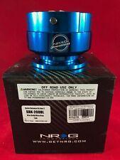 NRG STEERING WHEEL QUICK RELEASE 2.0 BLUE BODY BLUE RING  SRK-200BL