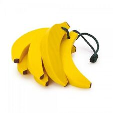 Wooden kids pretend role play food Erzi play kitchen, shop: Fruit Banana Bunch
