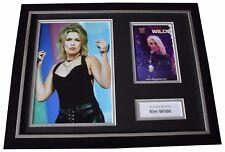 Kim Wilde Signed FRAMED Photo Autograph 16x12 display Music MemorabiliaCOA
