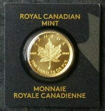 2015 Canada 50 cent 1 gram Gold Maple Leaf in Plastic Card