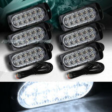 72 LED WHITE CAR EMERGENCY BEACON HAZARD WARN FLASH STROBE LIGHT BAR UNIVERSAL