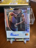 2020-21 Panini Prizm Draft Picks Paul Eboua RC Rookie Auto