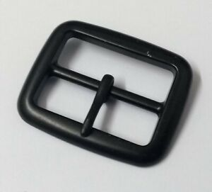 """Genuine British Military & Police Issue 1 1/4"""" Subdued Metal Prong Buckle STD92"""