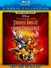 Disney Mexico South America Films Saludos Amigos & The Three Caballeros Blu-ray