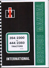 International 354/444 Tractor Service Manual