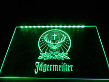 Jagermeister LED Neon Light Sign Bar Club Pub Advertise Decor Hang Home Gift Kit