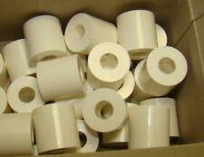 18 Stück Distanzstücke 20mm x 8,5mm x 25 mm Rollen Kunststoff Weiß Abstandsrolle
