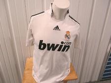 VINTAGE ADIDAS REAL MADRID F.C. DAVID BECKHAM #23 SMALL JERSEY 2008 KIT PREOWNED