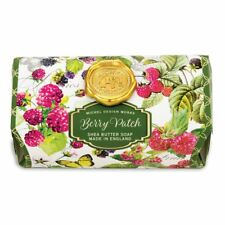 Michel Design Works Large 8.7 oz Artisanal Bar Bath Soap Berry Patch - NEW