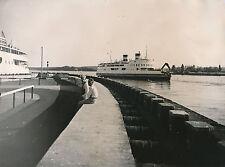 DANEMARK c. 1950 - Ferry Boat à Nyborg  - Div 7776