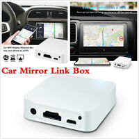 Car WiFi Display Mirror Link Box Adapter Miracast Dongle Airplay For Android iOS