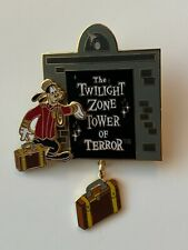 New Listing2002 Disney Pin - The Twilight Zone - Tower of Terror - Bell Hop Goofy