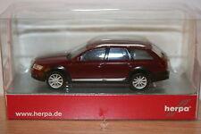 Herpa 023535, Audi A 6 Allroad, weinrot, neu, OVP