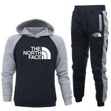2PCS Men's Tracksuits Hoodies Pants Jogging Track Sportswear UK Joggers Suit Set