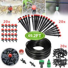 New Listing82Ft 25M Automatic Drip Irrigation System Plant Self Watering Garden Hose Kit Us