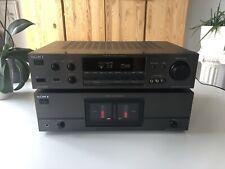 Sony TA-N721 Power Amp + TA-E721 AV Control Amplifier