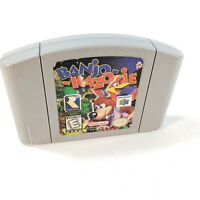 Banjo-Kazooie N64 Nintendo 64 Authentic Loose Cartridge Tested 100% Working