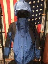 The North Face Mountain Light Gore Tex Jacket VTG Supreme Aztec Blue 90's Large