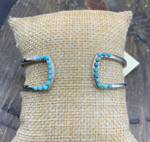 Barse Diva Cuff Bracelet- Turquoise & Sterling Silver-New With Tags