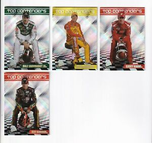 2009 Premium TOP CONTENDERS SILVER #TC6 Jeff Gordon BV$8! SCARCE! ONE CARD ONLY!