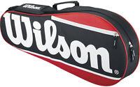 Tennis Racket Bag Sports Duffel Bags Equipment Holder Wilson Carrying Case New