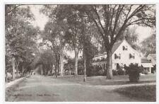 South Main Street Deep River Connecticut postcard