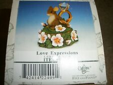 New Charming Tails Fitz & Floyd Figure Love Expressions Lidded Box 93/211