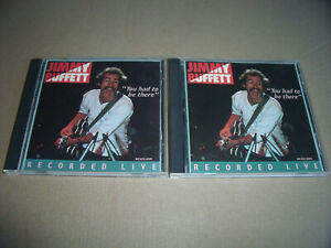Jimmy Buffett - You Had to Be There - 2 CD's