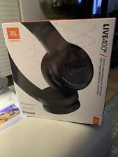 JBL Live 400BT Black Wireless On-Ear Headphones FACTORY SEALED