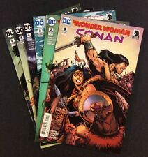 WONDER WOMAN CONAN #1 - 6 Comic Books FULL SERIES DC/Dark Horse 2017 NM
