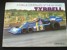 1970s A Foxcub KitBook of the Six Wheel Tyrrell by John Riley Formula 1 Book