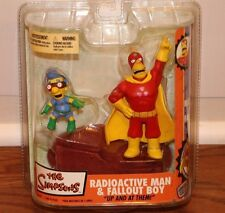 (NEW SEALED) THE SIMPSONS RADIOACTIVE MAN & FALLOUT BOY COLLECTIBLE TOY TOYS