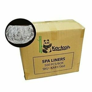 Karlash Ultra Premium Spa Disposable Liners Big Size Fits all Pedicure Spa 500pc