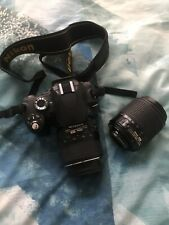 Nikon D50 Camera With DX 18-55mm 3.5-5.6 Lens And DX 55-200mm 4-5.6 Lens